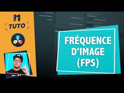 [Tuto] Choisir la fréquence d'images ? - FPS ralenti - DaVinci Resolve 12.5