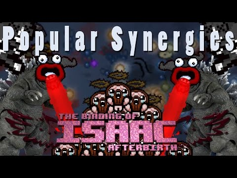 The Binding of Isaac Afterbirth Plus | Godzilla! | Popular Synergies!