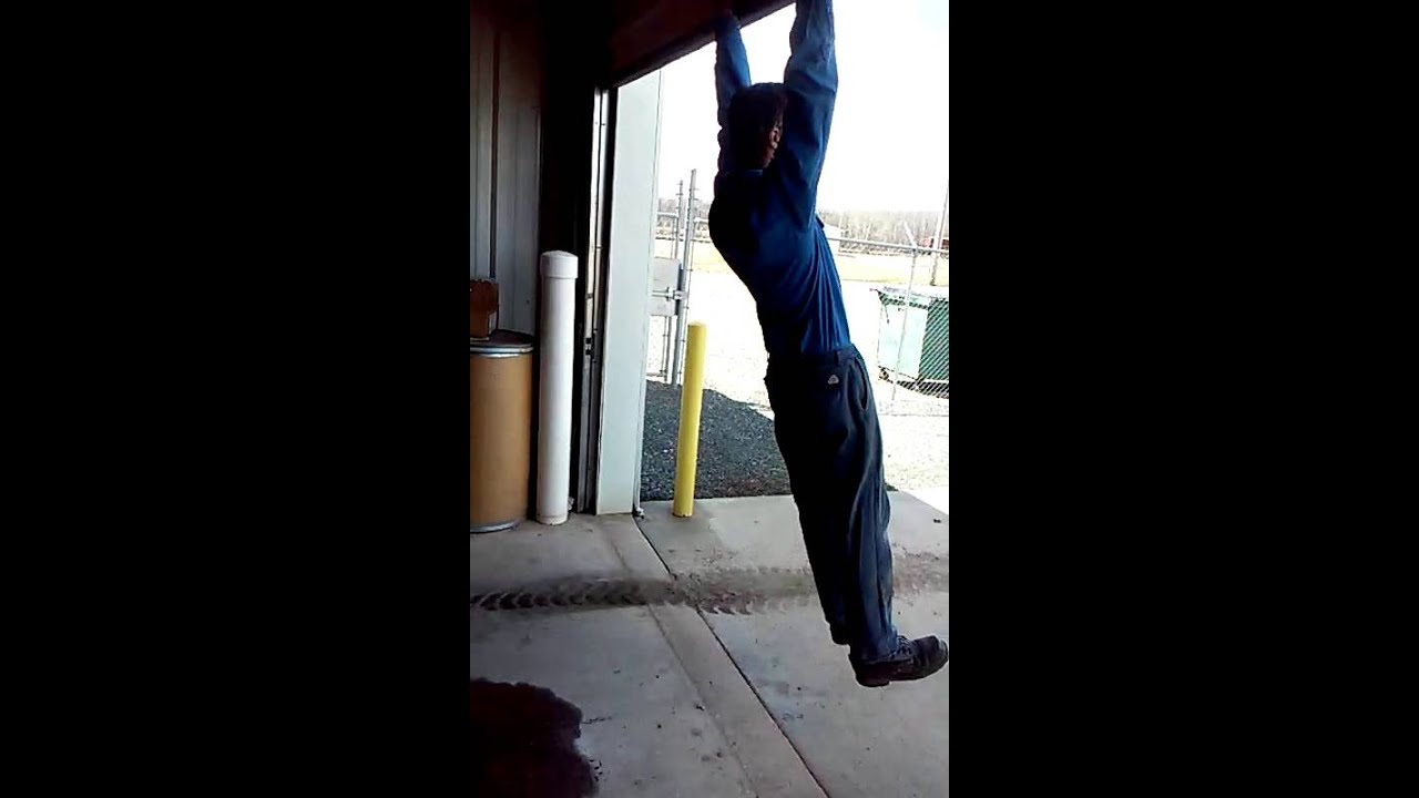 How To Fix A Sticky Garage Door Youtube