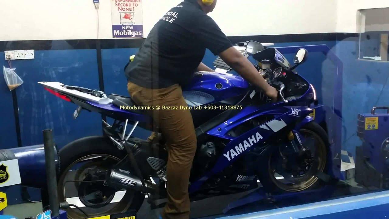 Yamaha R6 Model 2012 Bazzaz ZFi Dyno Tuning SC Project CRT