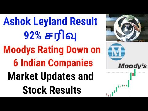 Ashok Leyland Result | Moodys Rating Down On 6 Indian Companies | Tamil Share | Intraday Tamil Tips