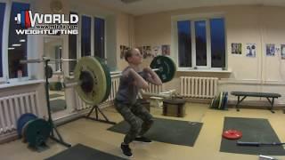 КИСЕЛЁВ Денис-55 (2005) 20.04.2019. Толчок - 52 кг/ ЗахаровTEAM
