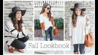 Fall Lookbook ~ 10 Outfits For Fall!