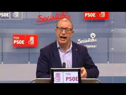 El PSN-PSOE reclama el final de la moratoria del PAI