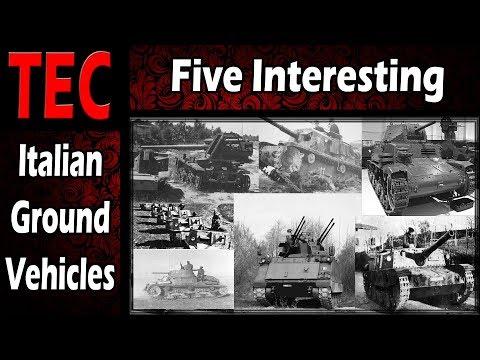 War Thunder - Five Interesting Italian Ground Vehicles