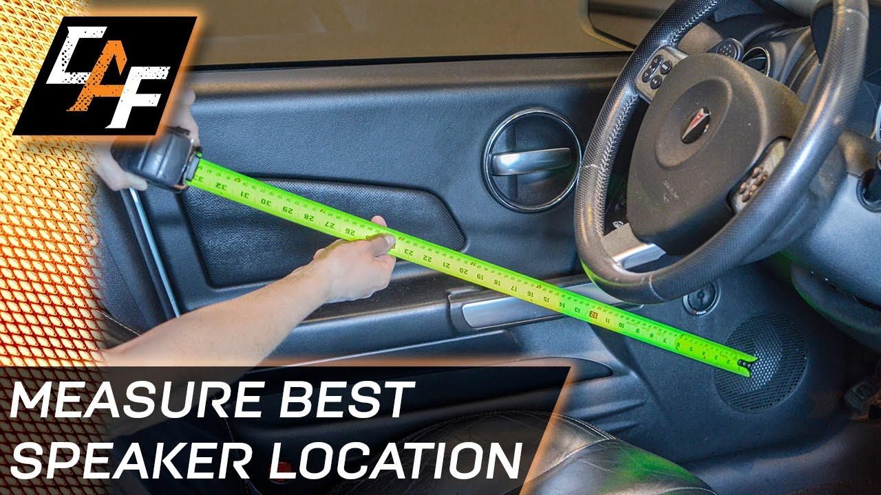 Best Speaker Location Measure Speaker Path Distances