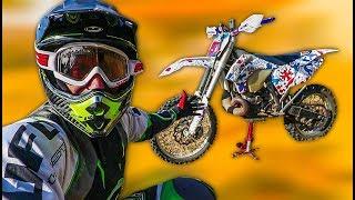 SCANNAVA COME UNA BESTIA! - KTM 300 2T PRIMA VOLTA CROSS TRAINING - BUNKER GARAGE EP 1