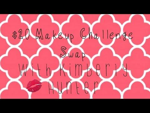 $20 Makeup Challenge Swap || with Kimberly Hunter