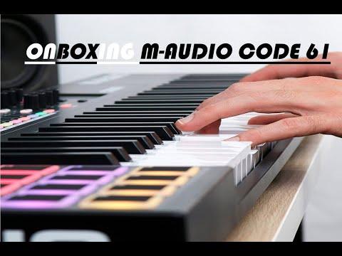 M-AUDIO CODE 61 UNBOXING (ESPAÑOL)