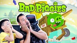 YİNE OYUNUN HİLESİNİ BULDU! | BAD PIGGIES OYNUYORUZ