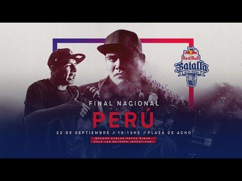 Final Nacional Perú 2018 | Red Bull Batalla De Los Gallos