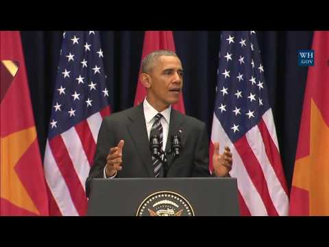 Obama Addresses Vietnamese People - Full Speech In Hanoi