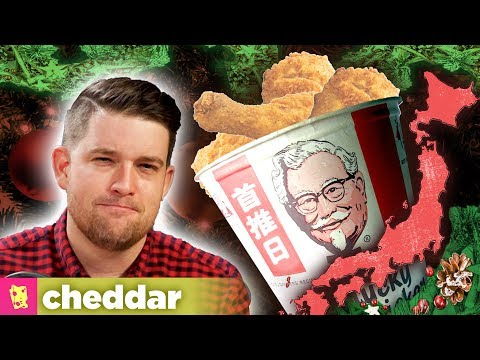 How KFC Became a Christmas Tradition in Japan - Cheddar Examines