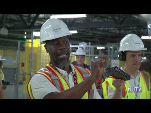 Tour Of New Amazon Fulfillment Center In North Haven, CT