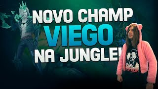 GAMEPLAY VIEGO JUNGLE! O NOVO CAMPEÃO!
