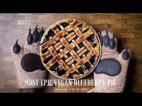 How to Make the Best Vegan Blueberry Pie