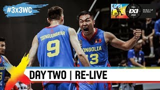 FIBA 3x3 World Cup 2018 - Pool Phase - Day 2 - Re-Live - Manila, Philippines