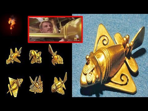 """The Quimbaya Artefacts"" ~ Ancient Fighter Jets?"