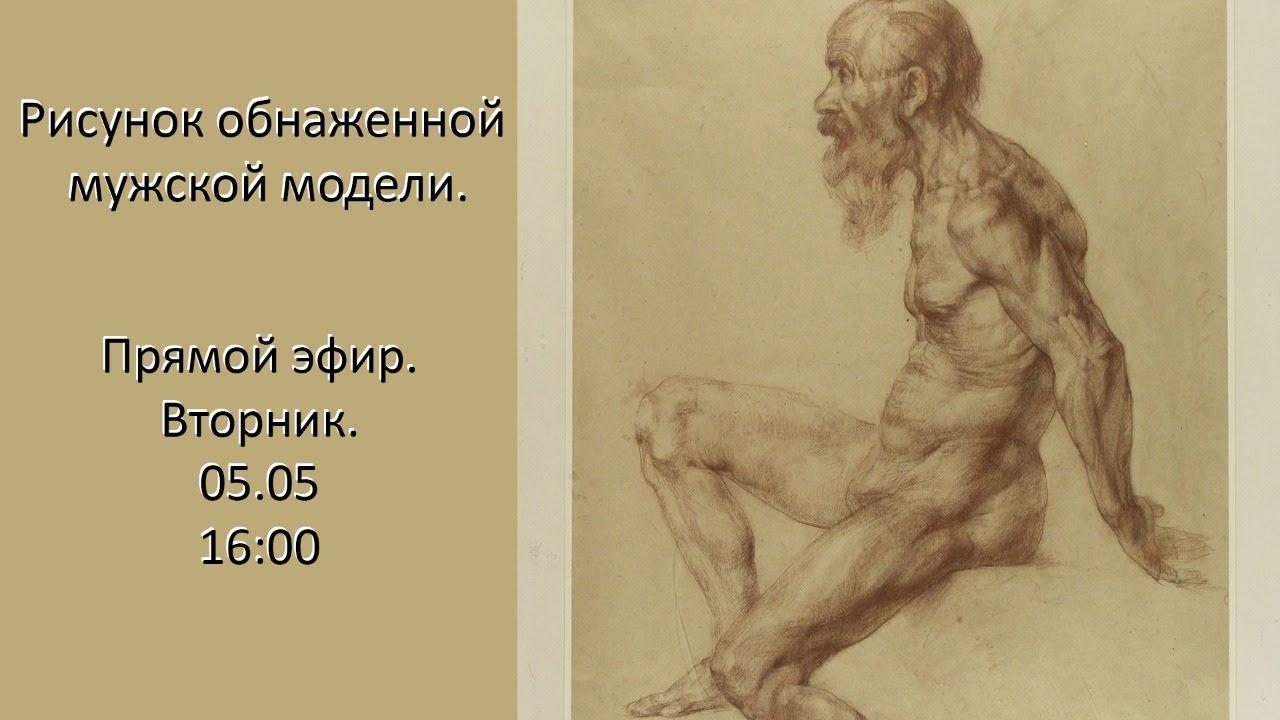 Академический Рисунок Обнаженной Натуры