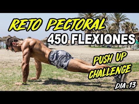 RETO 450 FLEXIONES ||RETO PECTORAL EN 15 DIAS #13 ||MALAGA ENTRENA