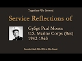 TWS Veteran Interview: GySgt Paul Moore, U.S. Marine Corps (1942 -1963)