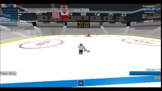 How to snipe like a pro in roblox hhcl hockey HARD CODED