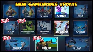 *NEW* Christmas GAMEMODES LTM - Fortnite Update 7.10 Patch Notes (Fortnite Battle royale)