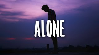 Nico Collins - Alone (Lyrics)