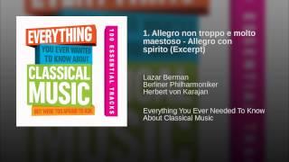 1. Allegro non troppo e molto maestoso - Allegro con spirito (Excerpt)