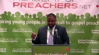 Christopher Coates, 2014 National Festival of Young Preachers