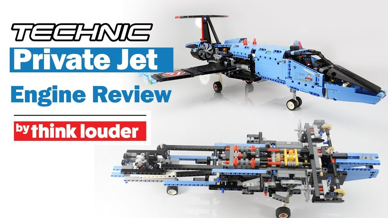 lego technic 42066 air race jet under the hood review. Black Bedroom Furniture Sets. Home Design Ideas