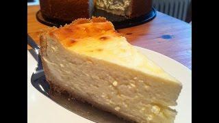 Käsekuchen backen - Käsekuchen mit Quark & Mürbeteig Selber Machen (Rezept)