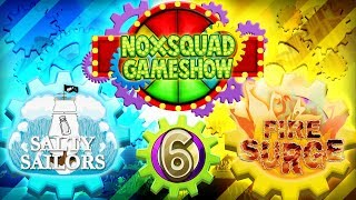 Noxsquad Gameshow Season 1, Match 3, Game 1: The Salty Sailors vs Fire Surge [Fan Gameshow]
