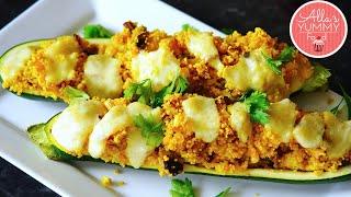 Stuffed Zucchini Recipe - Фаршированные цуккини-лодочки