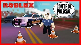 MY FIRST POLICE CONTROL ? LIBERTY COUNTY - Roblox