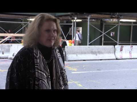 Celia Weston arriving at Movie Premier