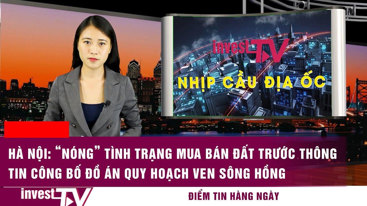 """image Hà Nội: """"nóng"""" tình trạng mua bán đất trước thông tin công bố đồ án quy hoạch ven sông Hồng"""