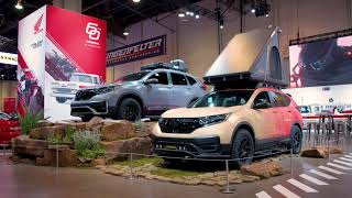 SEMA 2019 - Honda Vehicles Accessorized for Outdoor Fun