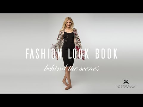Fashion Look Book Behind The Scenes With Lighting Setup And Camera Settings