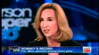 Keeping Them Honest - CNN Looks At The Hypocrisy of Romney