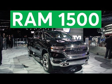 2018 Detroit Auto Show: 2019 Ram 1500 Remains Big and Brawny   Consumer Reports