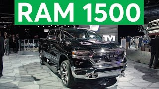 2018 Detroit Auto Show 2019 Ram 1500 Remains Big and Brawny  Consumer Reports
