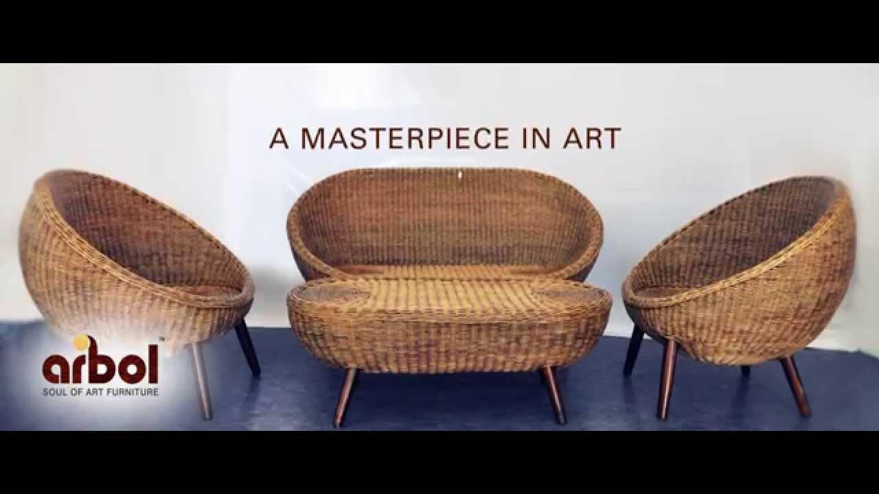 Arbol Furniture Kerala - YouTube for Bamboo Furniture Kerala  45gtk