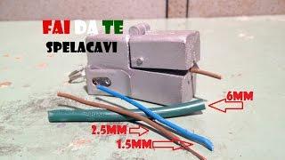 Repeat youtube video FAI DA TE - Spelacavi 3 in 1 (DIY - Cut cable)
