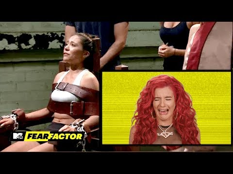Justina Valentine Reacts to Fear Factor's Most INTENSE Moments | MTV