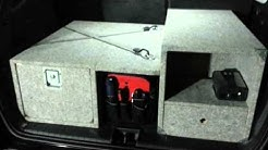 SUV homebuild trunk drawer