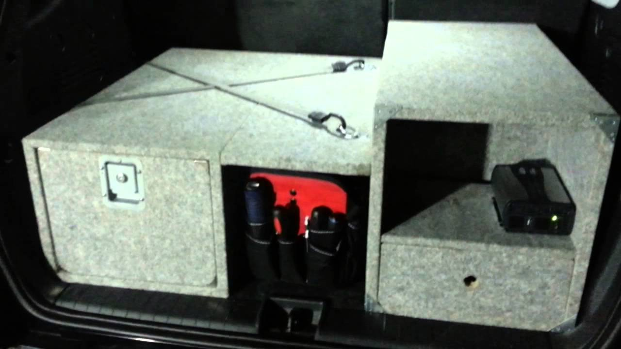 Suv Homebuild Trunk Drawer Youtube