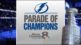Lightning Parade of Champions: Stanley Cup Boat Celebration in Tampa Bay