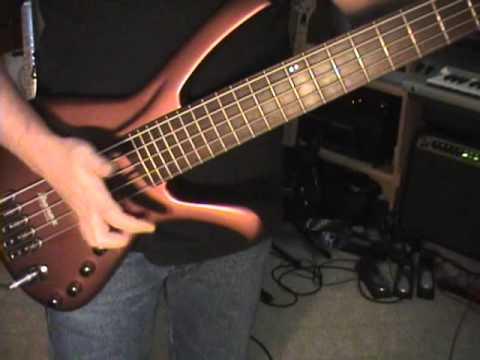 Ibanez EDA 905 Ergodyne 5 String Bass Guitar Review Scott Grove