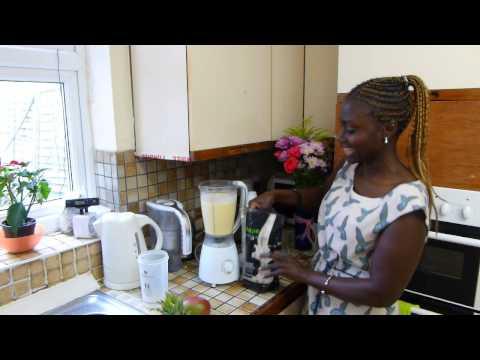 Seraphine's Pinapple And Mango Smoothie  With Vi Shape  Shake